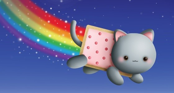 nyan cat lost in space f r kurze zeit gratis f r iphone und ipad. Black Bedroom Furniture Sets. Home Design Ideas