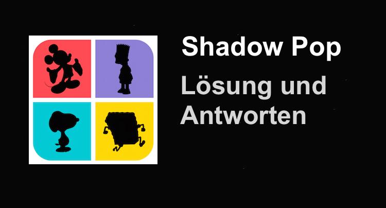 Shadow Pop Lösung Antworten