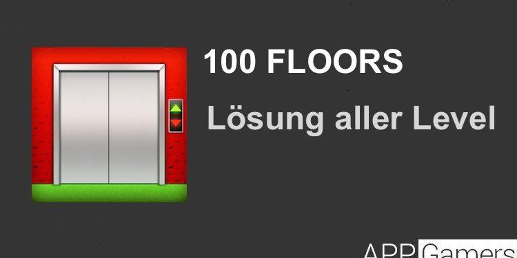 100 Floors Lösung