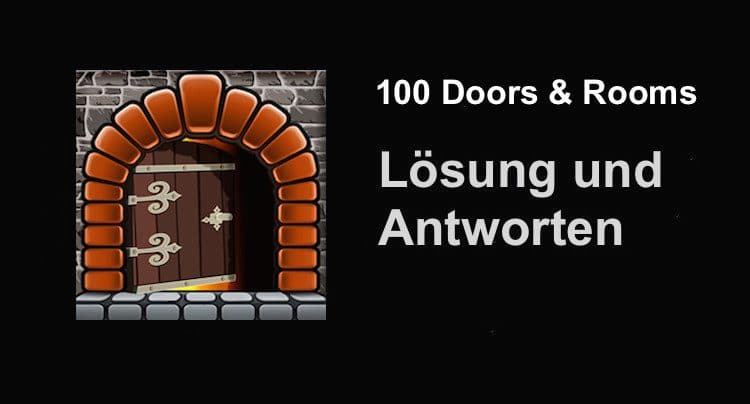 100 Doors Amp Rooms L 246 Sung Und Walkthrough Aller Level