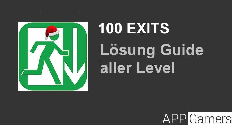 100 Exits L 246 Sung Und Walkthrough Aller Level