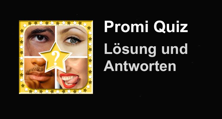Promi Quiz Ratespiel Lösung Antworten