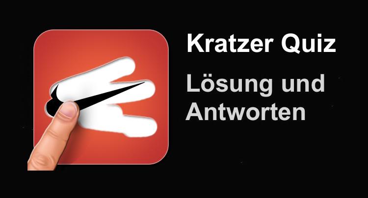 Kratzer Logo Quiz Lösung