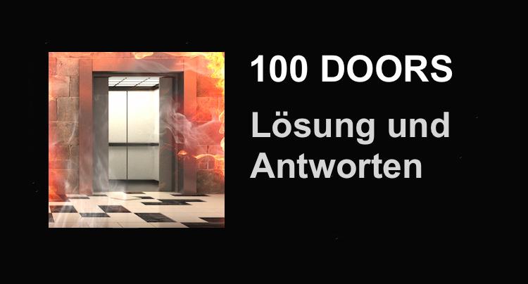 Appgamers cheats tipps l sungen android und ios for 100 doors door 6