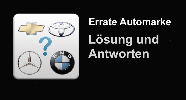 Automarken kennenlernen