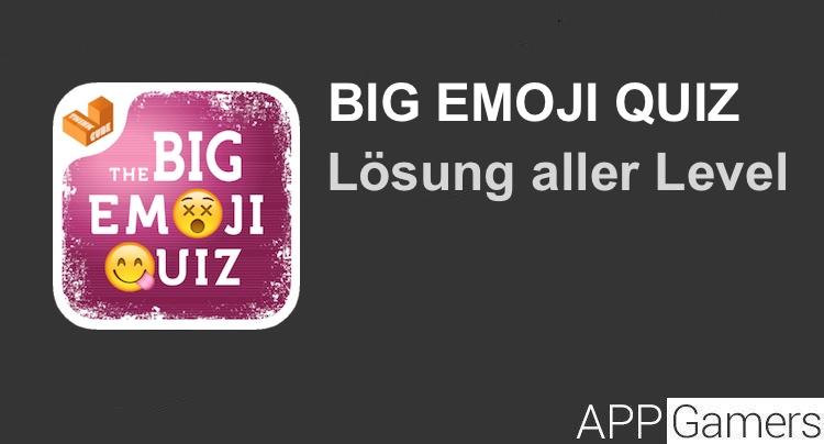 Big emoji quiz l sung mit antworten f r jeden level for Koch quiz mit antworten