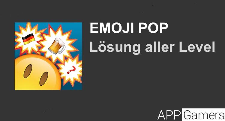 emoji pop deutsch l sung mit antworten f r jeden level. Black Bedroom Furniture Sets. Home Design Ideas