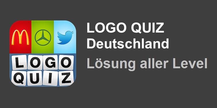 Logo Quiz Deutschland Lösung aller Level
