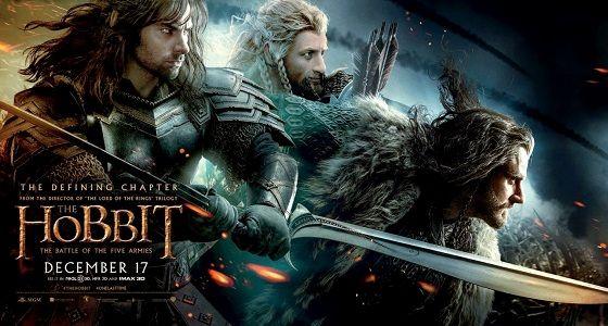 Der Hobbit 3 - Kinostart - Platz 1 der Kinocharts