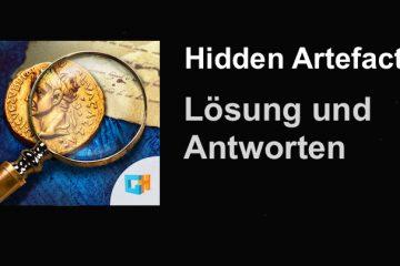 Hidden Artefacts Lösung