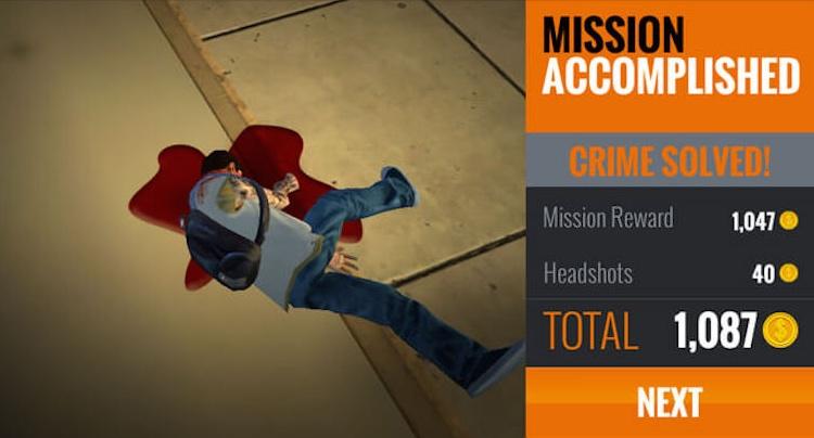 Sniper 3D Assassin Cheats Tipps Walkthrough