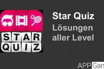 Star Quiz Lösung aller Level