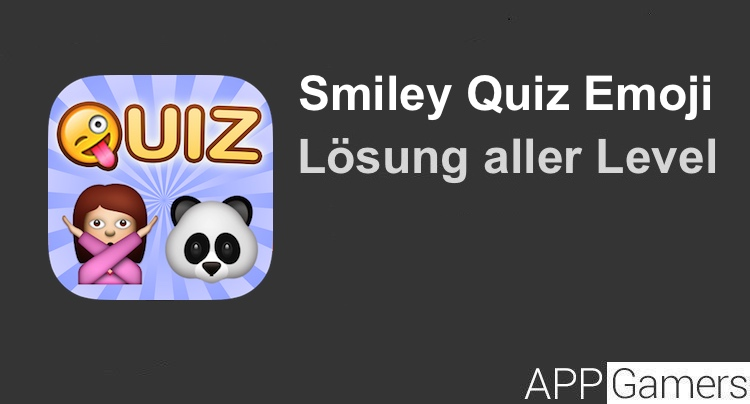Smiley Quiz Emoji Game Lösung