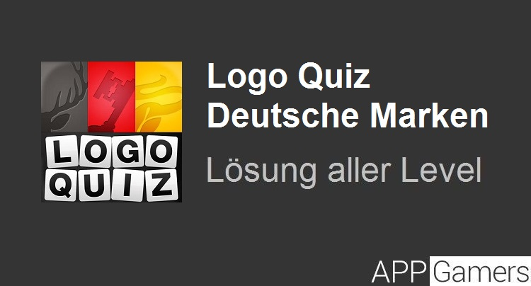 logo quiz deutsche marken l sung und antworten alle level. Black Bedroom Furniture Sets. Home Design Ideas