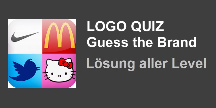 Logo Quiz Guess the Brand Lösung