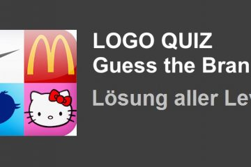 Logo Quiz Guess the Brand - iPhone iPad - Lösung aller Level