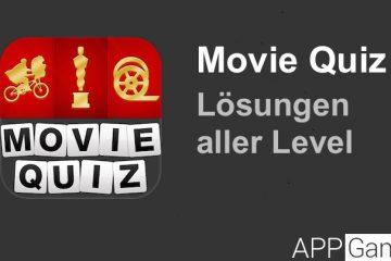 Movie Quiz Lösung aller Level