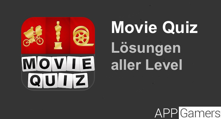 Movie Quiz Lösung aller Level