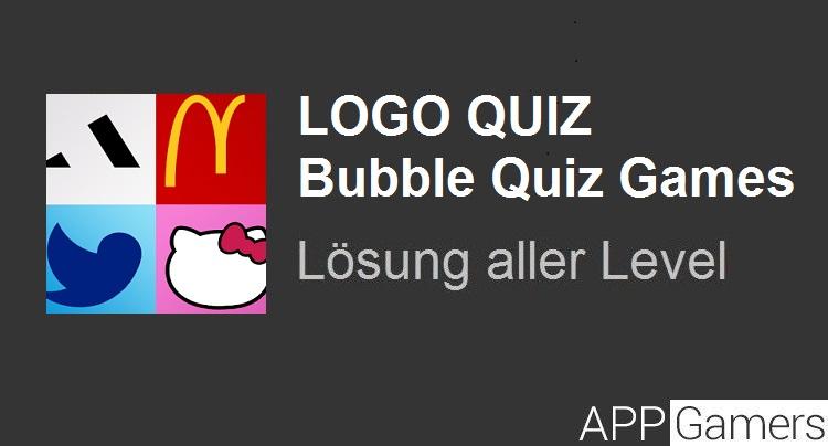 logo quiz bubble lösung