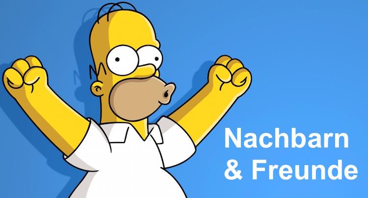 Die Simpsons Springfield Nachbarn und Freunde