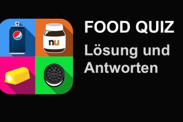 Food Quiz Lösung aller Ebenen und Level