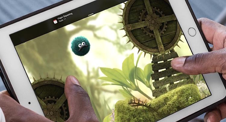 Leo Fortune auf Apple iPad
