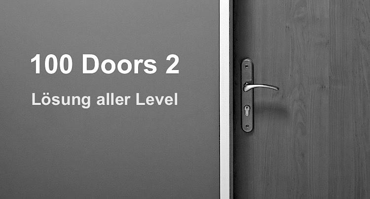 100 doors 2 l sung und walkthrough aller level for 100 doors door 6