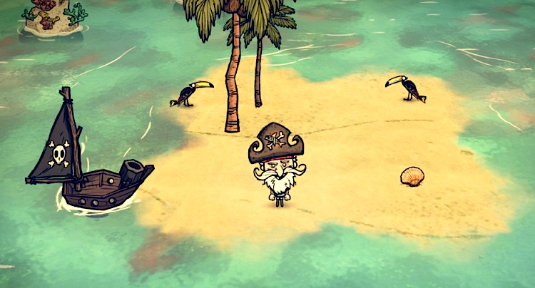 Don't Starve Shipwrecked Walkthrough Lösung Cheats Hacks