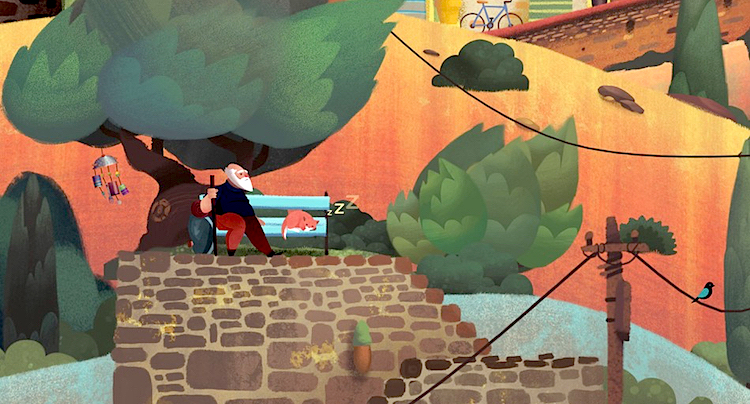 Old Man's Journey Walkthrough Lösung Cheats Hacks
