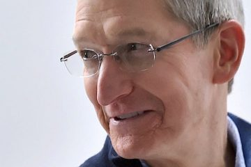 Tim Cook Apple iPhone X