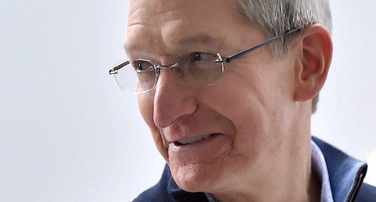 Tim Cook Apple iPhone X