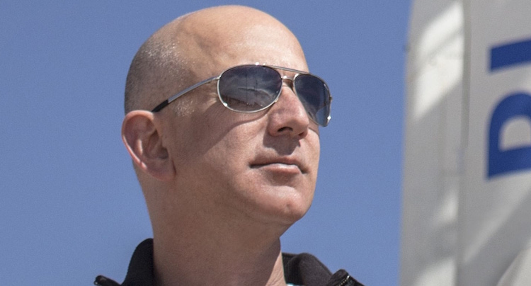 Amazon Chef Jeff Bezos Blue Origin
