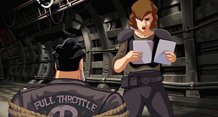 Full Throttle Remastered Cheats Hacks Lösung Walkthrough
