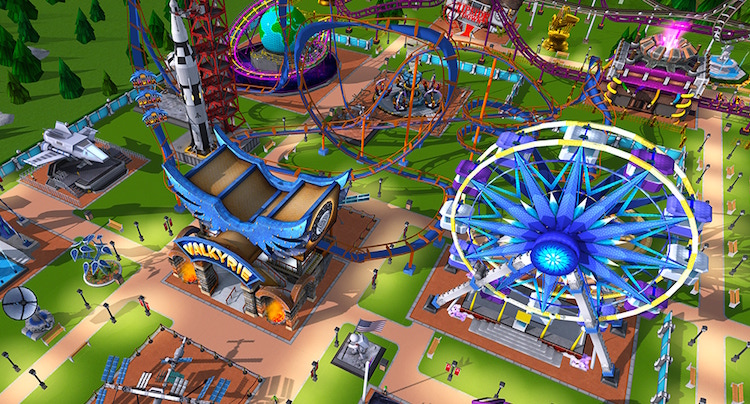 RollerCoaster Tycoon Touch Cheats Hacks Tipps Münzen Tickets