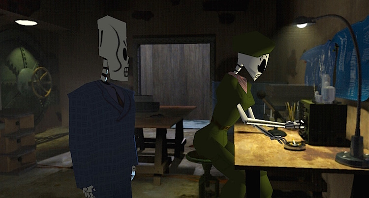 Grim Fandango Remastered Walkhrough Lösung Cheats Tipps
