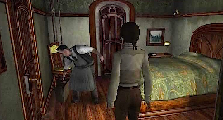 Syberia Walkhrough Lösung Cheats Tipps