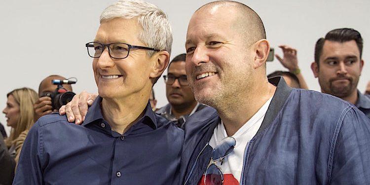 Apple Jony Ive Tim Cook