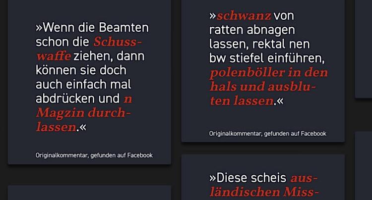Hassmelden Hass und Hetze Facebook Internet