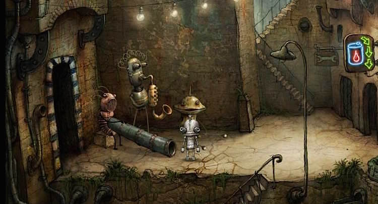 Machinarium Walkthrough Lösung Cheats
