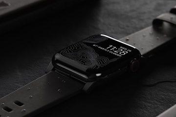 Apple Watch: Nomad Active Strap Lederarmband