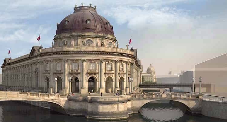 Apple Maps Berlin Bode-Museum