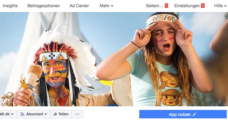 Facebook Seite Page löschen