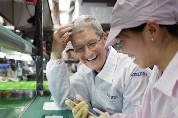 Foxconn Apple Tim Cook