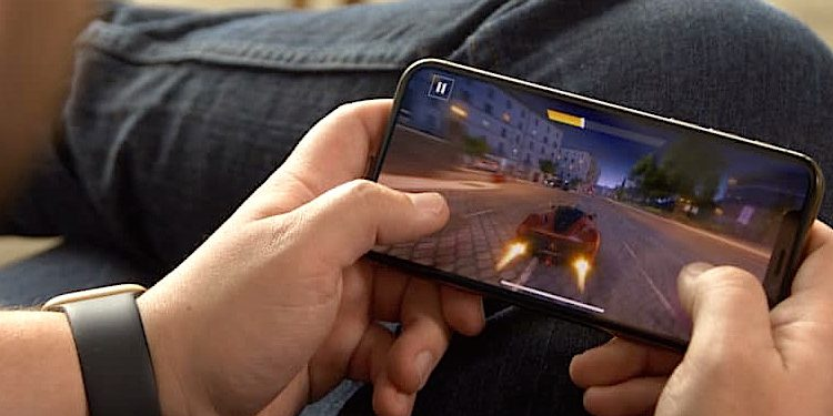 Virtual Reality Apple iPhone Gaming