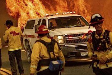 Apple: Spenden zur Bekämpfung der Feuer in Kalifornien