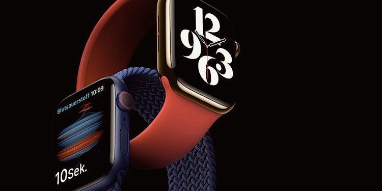 Apple Watch Series 6: Neuer Sensor für Sauerstoffsättigung