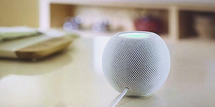 Apple: HomePad mini hinterlässt keine Spuren auf sensiblen Oberflächen