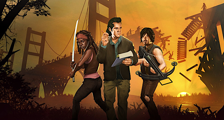 Bridge Constructor: The Walking Dead im Apple App Store erhältlich