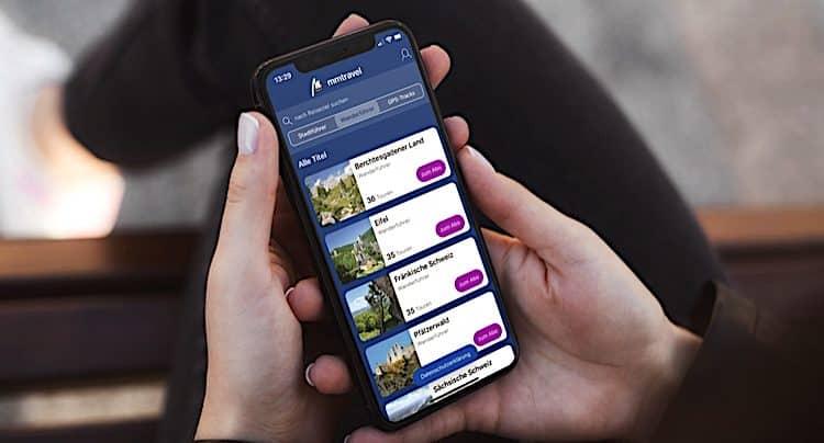 mmTravel: Reise-App dank Update 1.8 mit Wanderführern