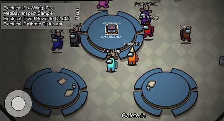 Among Us! Suchtspiel für Handy und Tablet im Spieletest